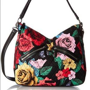 Vera Bradley Havana Rose Vivian Hobo Bag